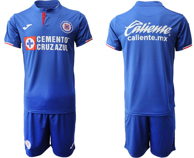 Men 2019-2020 club CDSC Cruz Azul home blue Soccer Jerseys