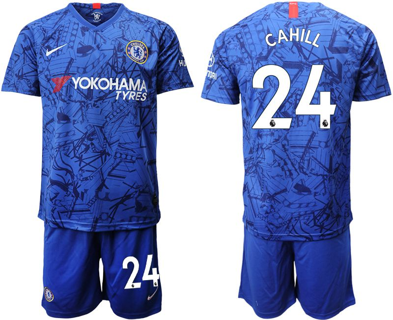 Men 2019-2020 club Chelsea FC home 24 blue Soccer Jerseys