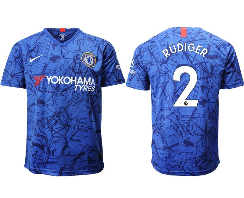 Men 2019-2020 club Chelsea FC home aaa version 2 blue Soccer Jerseys