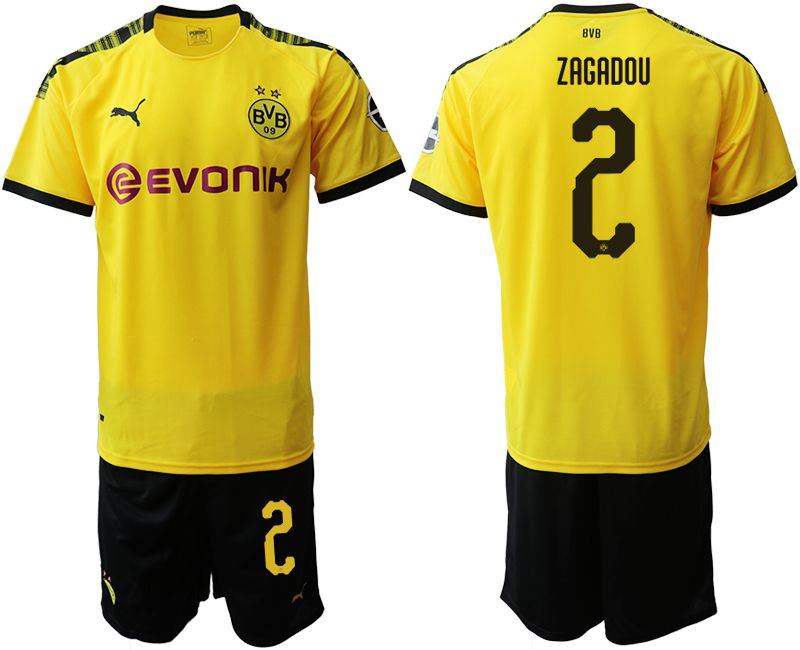 Men 2019-2020 club Dortmund home 2 yellow Soccer Jerseys