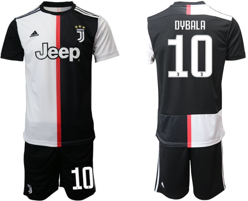 Men 2019-2020 club Juventus FC home 10 black Soccer Jerseys