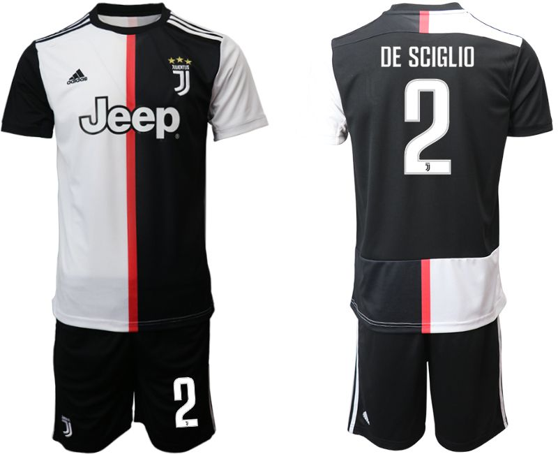 Men 2019-2020 club Juventus FC home 2 black Soccer Jerseys