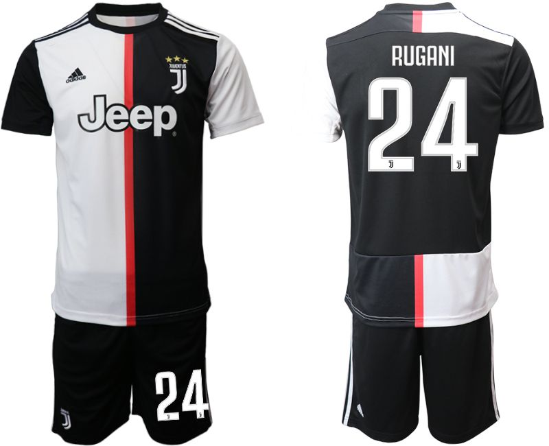 Men 2019-2020 club Juventus FC home 24 black Soccer Jerseys
