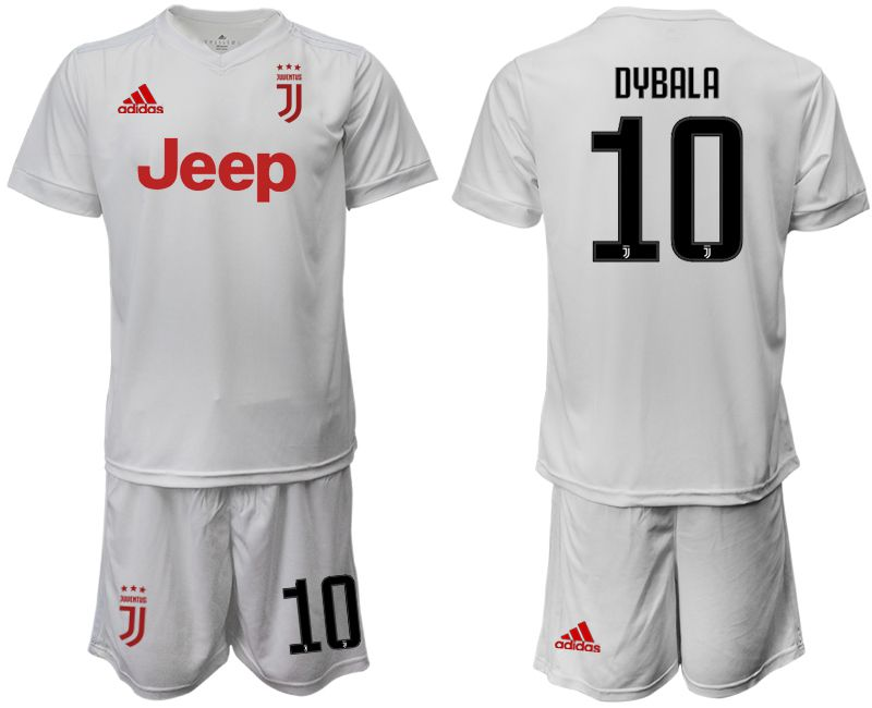 Men 2019-2020 club Juventus away white 10 Soccer Jerseys