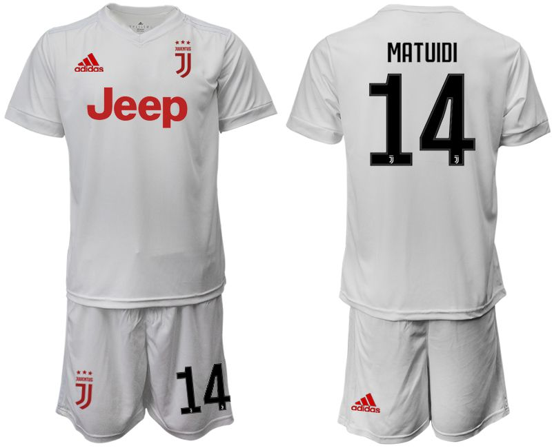 Men 2019-2020 club Juventus away white 14 Soccer Jerseys