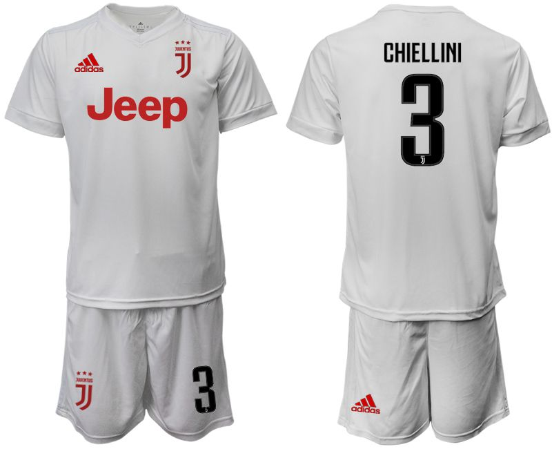 Men 2019-2020 club Juventus away white 3 Soccer Jerseys