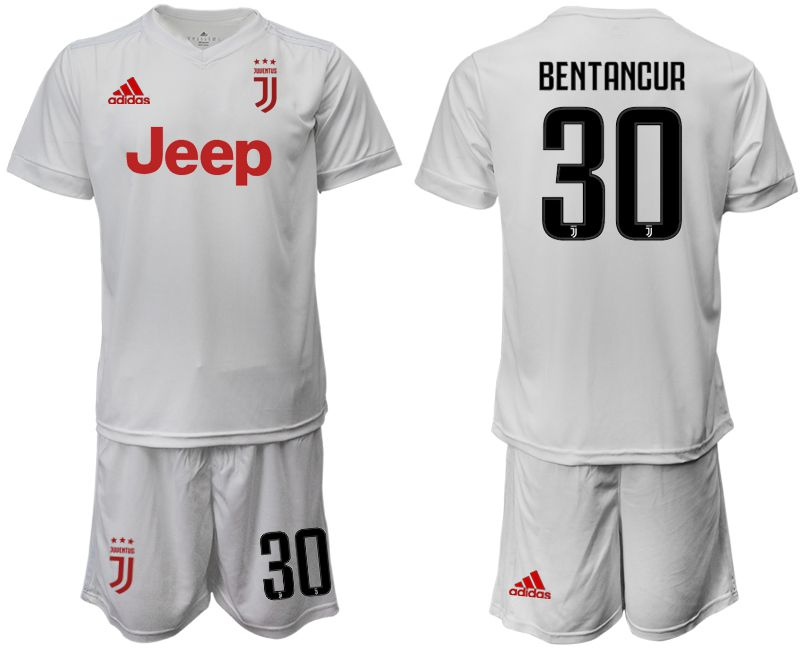 Men 2019-2020 club Juventus away white 30 Soccer Jerseys