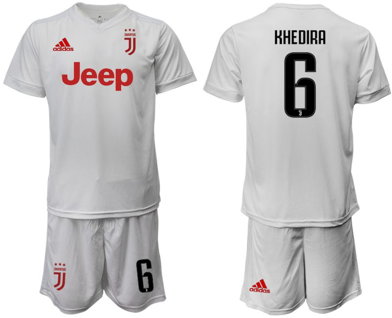 Men 2019-2020 club Juventus away white 6 Soccer Jerseys