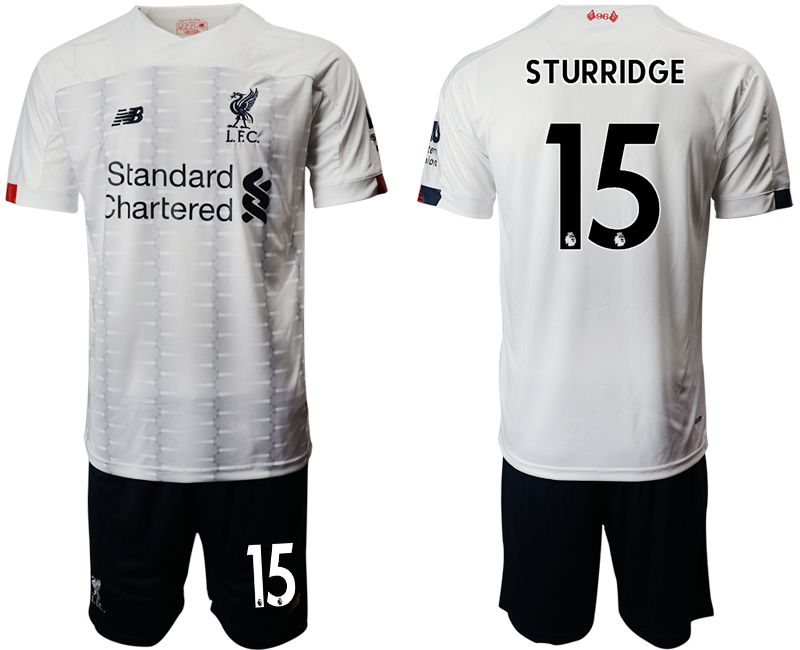 Men 2019-2020 club Liverpool away 15 white Soccer Jerseys