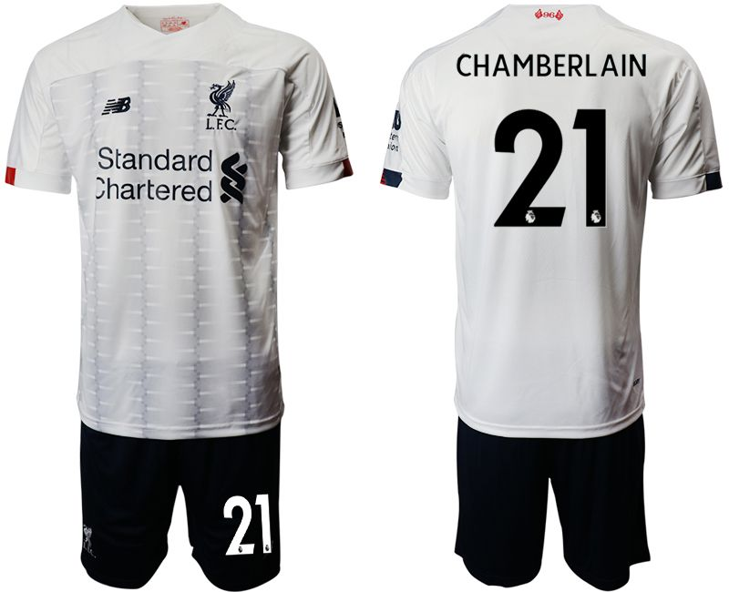 Men 2019-2020 club Liverpool away 21 white Soccer Jerseys