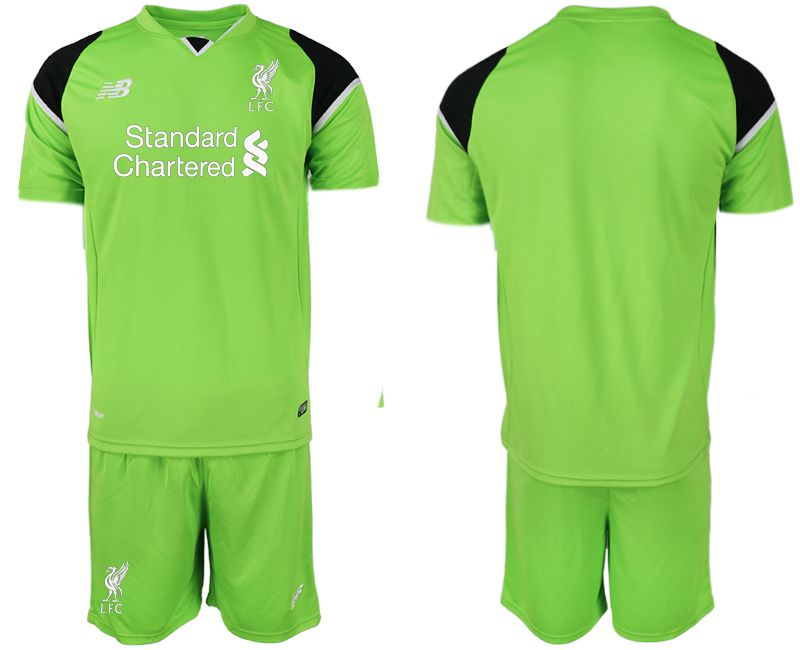 Men 2019-2020 club Liverpool green goalkeeper Soccer Jerseys
