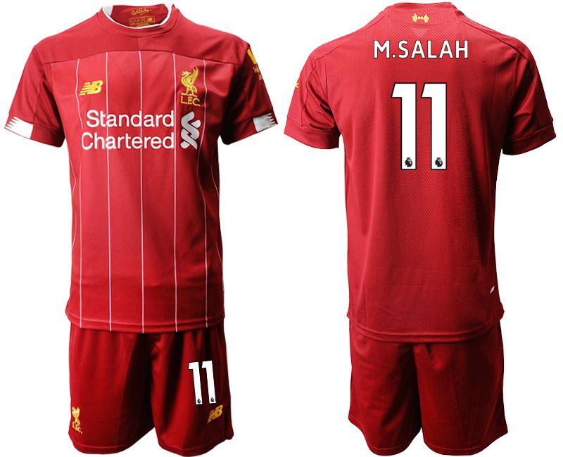 Men 2019-2020 club Liverpool home 11 red Soccer Jerseys