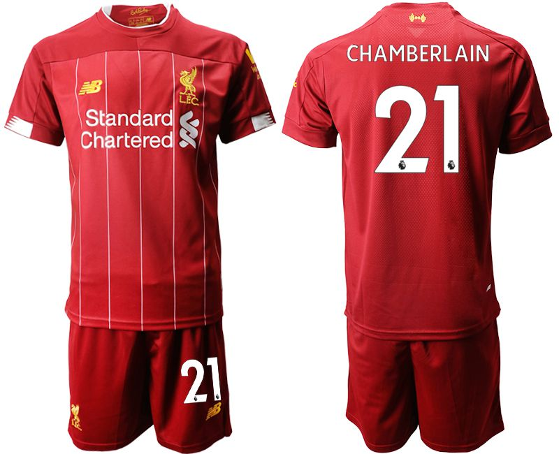 Men 2019-2020 club Liverpool home 21 red Soccer Jerseys