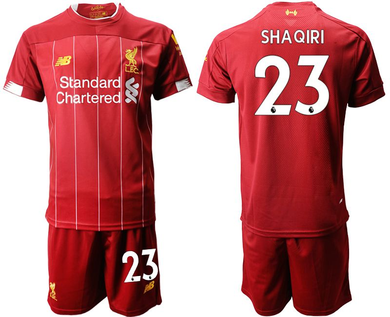 Men 2019-2020 club Liverpool home 23 red Soccer Jerseys