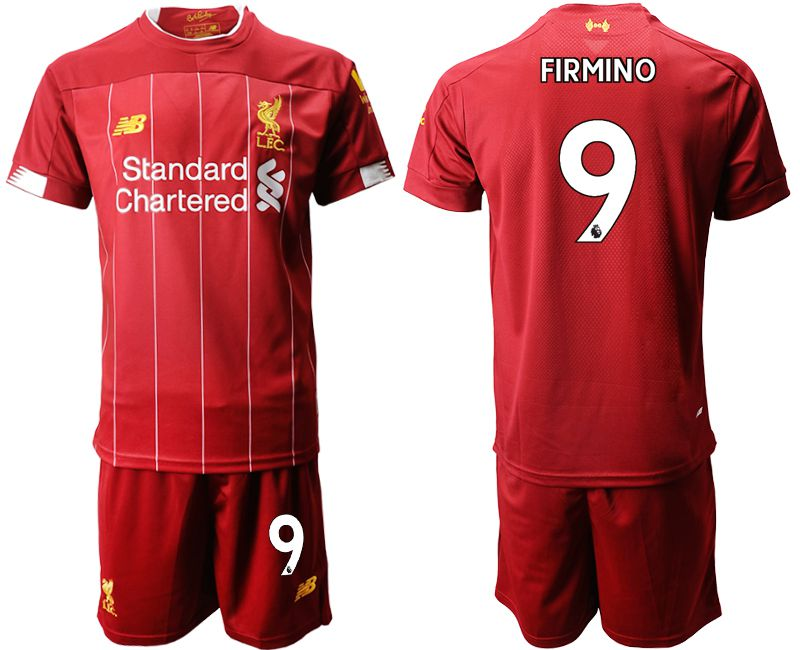 Men 2019-2020 club Liverpool home 9 red Soccer Jerseys