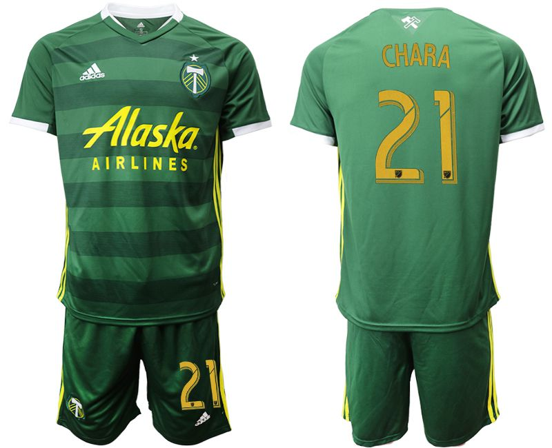 Men 2019-2020 club Portland Timbers hone 21 green Soccer Jerseys