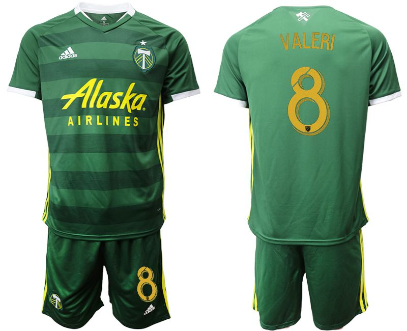 Men 2019-2020 club Portland Timbers hone 8 green Soccer Jerseys