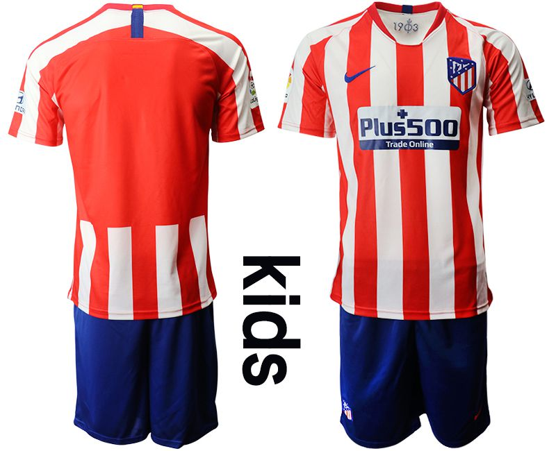 Youth 2019-2020 club Atletico Madrid home red Soccer Jerseys