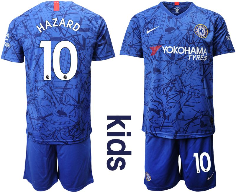 Youth 2019-2020 club Chelsea FC home 10 blue Soccer Jerseys