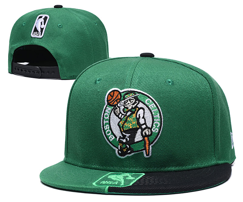 2019 NBA Boston Celtics Snapback hat