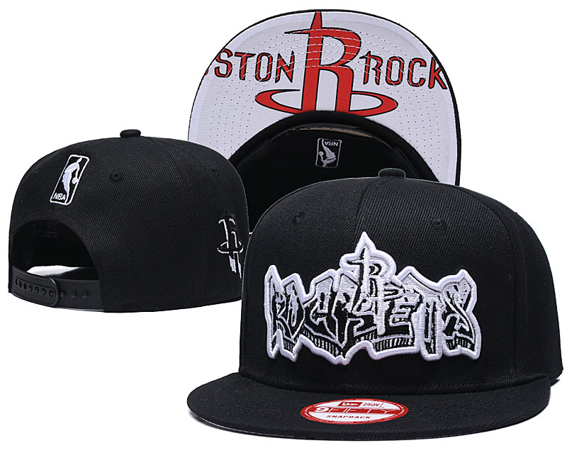 2019 NBA Houston Rockets 2 Snapback hat