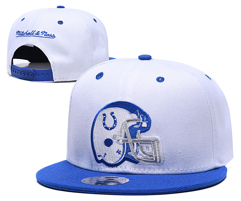 2019 NFL Indianapolis Colts Snapback hat