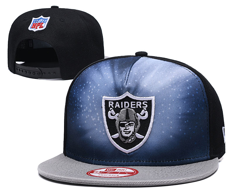 2019 NFL Oakland Raiders Snapback hat