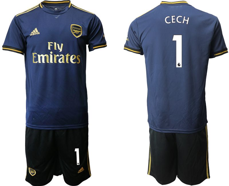 Men 2019-2020 club Arsenal away 1 blue Soccer Jerseys