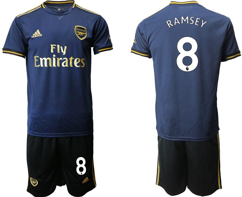 Men 2019-2020 club Arsenal away 8 blue Soccer Jerseys