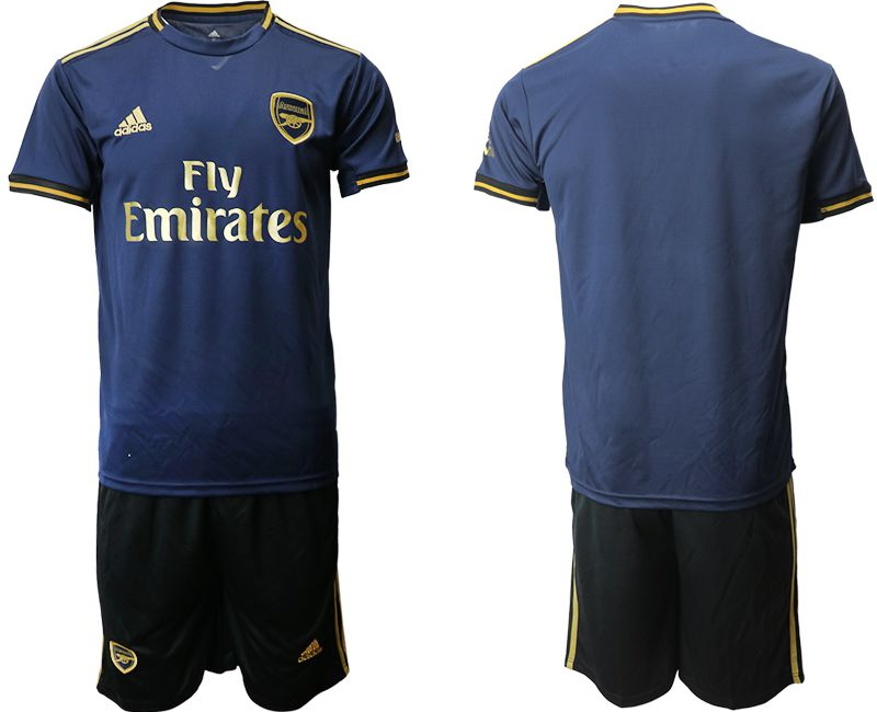 Men 2019-2020 club Arsenal away blue Soccer Jerseys