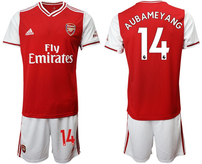 Men 2019-2020 club Arsenal home 14 red Soccer Jerseys
