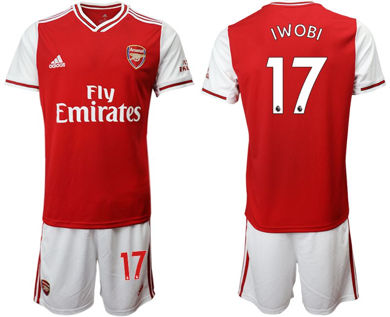 Men 2019-2020 club Arsenal home 17 red Soccer Jerseys
