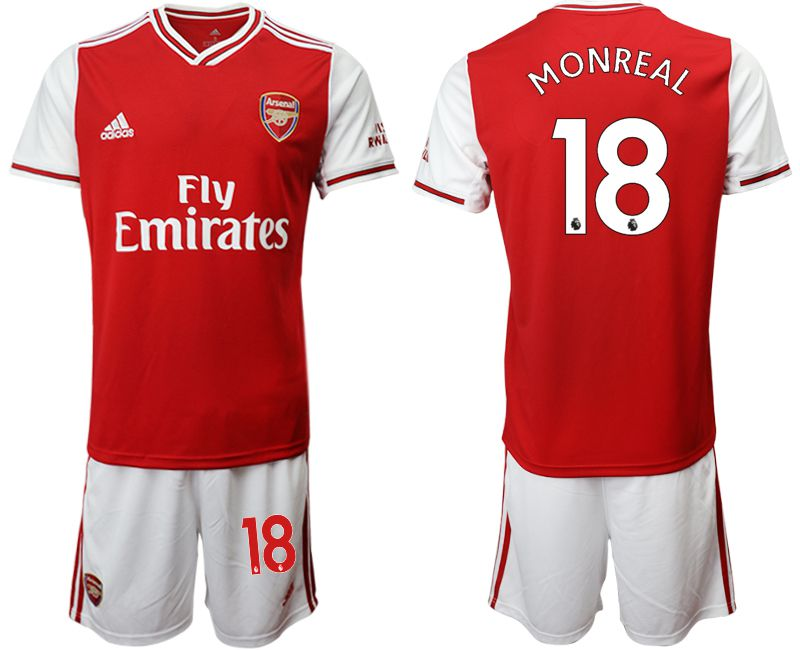 Men 2019-2020 club Arsenal home 18 red Soccer Jerseys