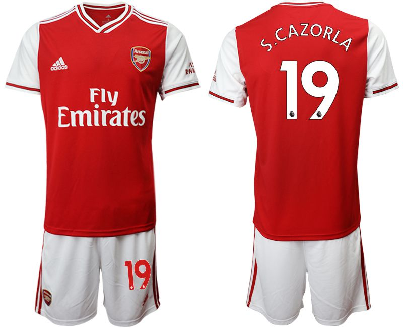 Men 2019-2020 club Arsenal home 19 red Soccer Jerseys