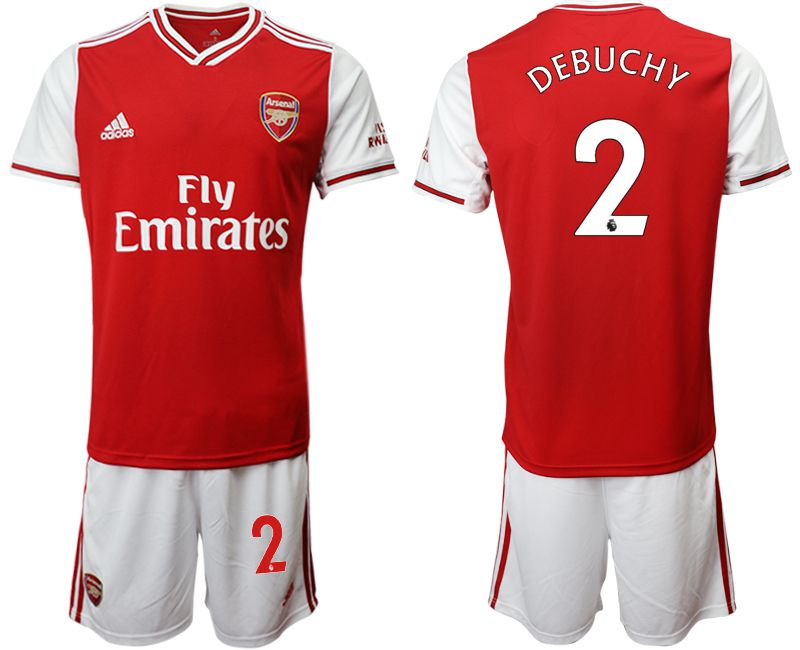 Men 2019-2020 club Arsenal home 2 red Soccer Jerseys