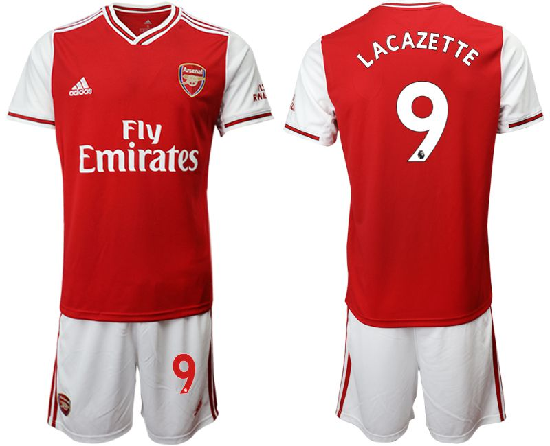 Men 2019-2020 club Arsenal home 9 red Soccer Jerseys