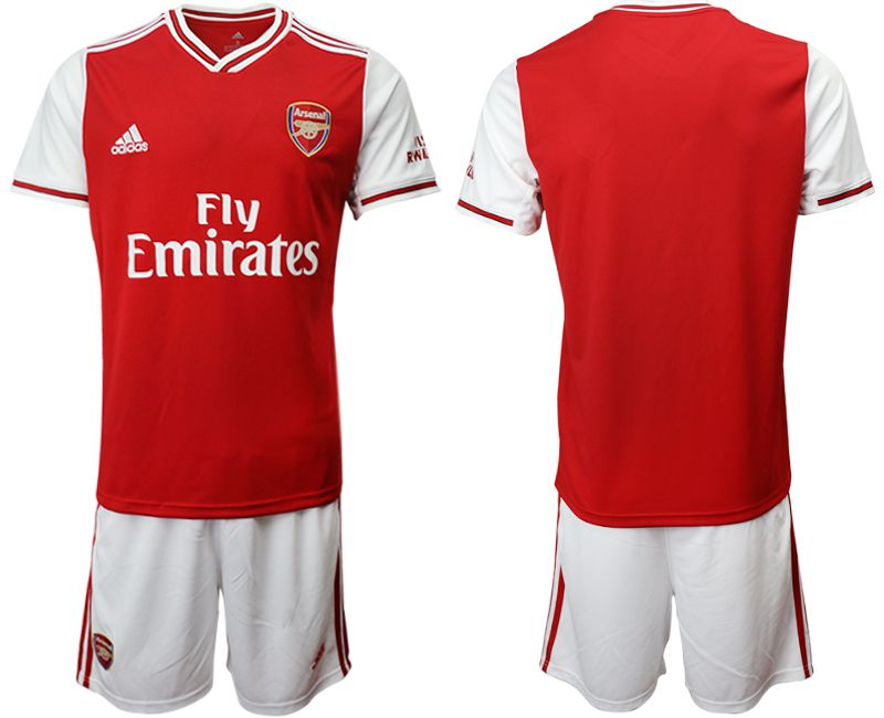 Men 2019-2020 club Arsenal home red Soccer Jerseys