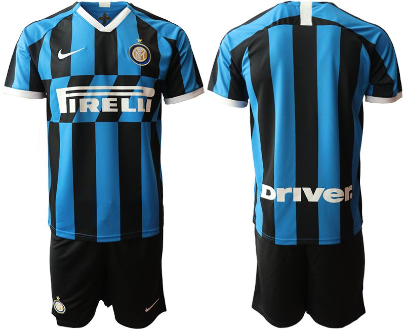 Men 2019-2020 club Inter Milan home blue Soccer Jerseys