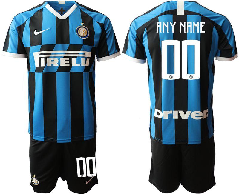 Men 2019-2020 club Inter Milan home customized blue Soccer Jerseys