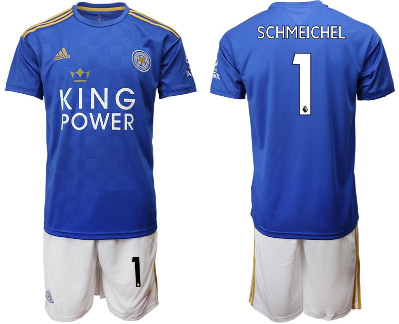 Men 2019-2020 club Leicester City home 1 blue Soccer Jerseys