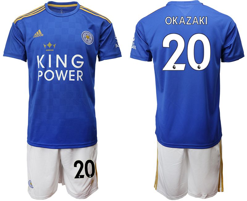 Men 2019-2020 club Leicester City home 20 blue Soccer Jerseys