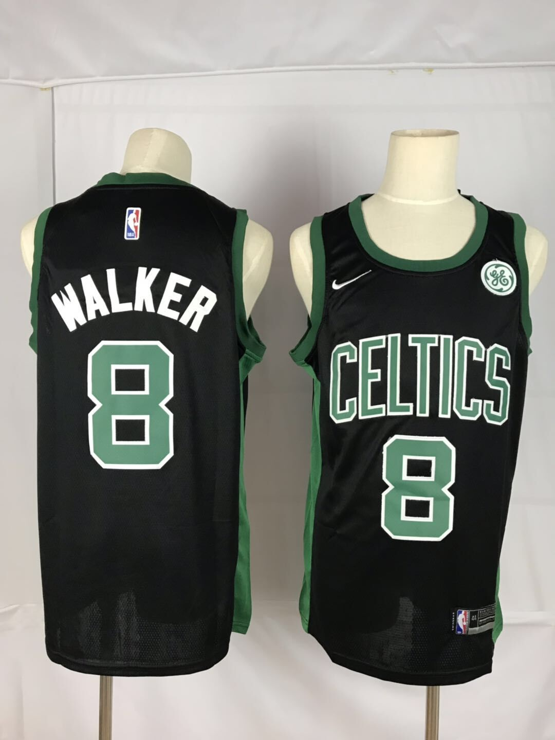 Men Boston Celtics 8 Walker black Game Nike NBA Jerseys