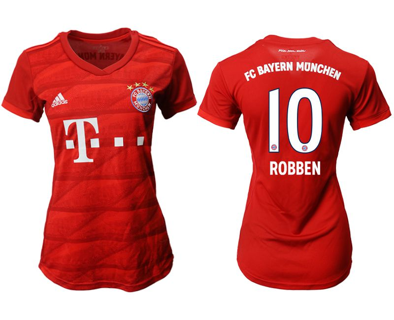 Women 2019-2020 club Bayern Munich home aaa version 10 red Soccer Jerseys
