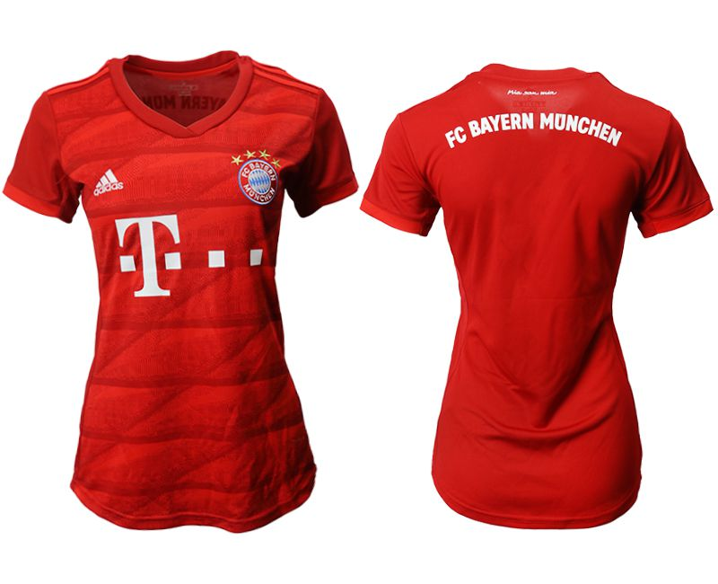 Women 2019-2020 club Bayern Munich home aaa version red Soccer Jerseys