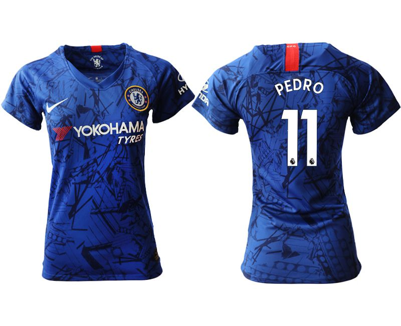 Women 2019-2020 club Chelsea home aaa version 11 blue Soccer Jerseys
