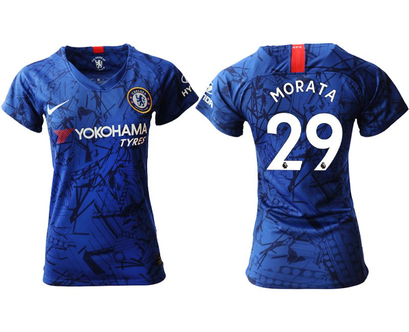Women 2019-2020 club Chelsea home aaa version 29 blue Soccer Jerseys