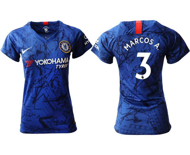 Women 2019-2020 club Chelsea home aaa version 3 blue Soccer Jerseys