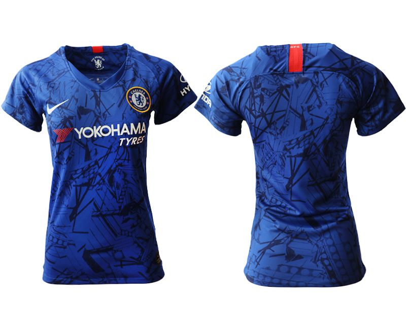 Women 2019-2020 club Chelsea home aaa version blue Soccer Jerseys