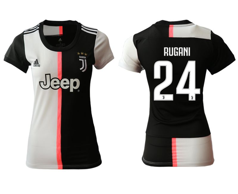 Women 2019-2020 club Juventus home aaa version 24 black Soccer Jerseys