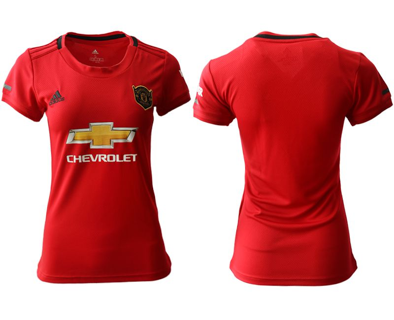 Women 2019-2020 club Manchester United home aaa version red Soccer Jerseys